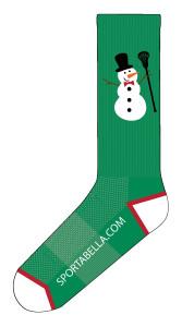 snowman-socks